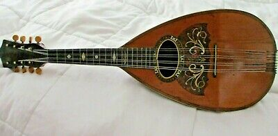Antique W.a.cole Imperial Mandolin 1891 Beautiful Cond Set Up & Ready To Play!!