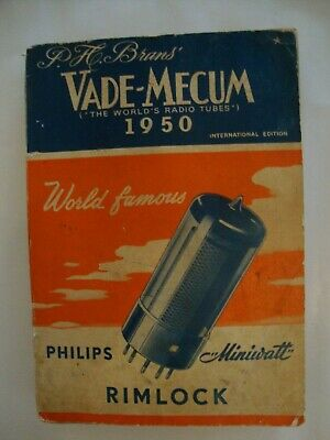 Vade Mecum The World's Radio Tubes Tsf 1950