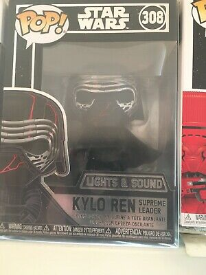 Funko Pop! Star Wars The Rise of Skywalker Kylo Ren Electronic LIGHTS and SOUND