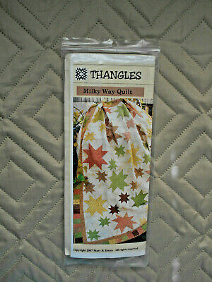 KIT Thangles Project Pack Milky Way Quilt - pattern & 2 packs Thangles MIP
