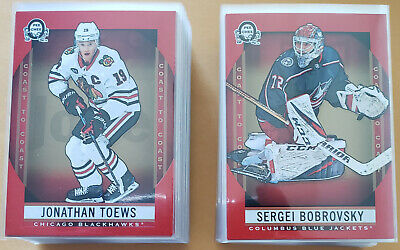 2018-19 OPC Coast to Coast Canadian Tire Base Red Lot of 100 Cards #1-100 Set