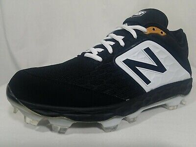 New Balance TPU Low Baseball Cleats Size 11 Men's Black & White EUR 45 PL3000K4
