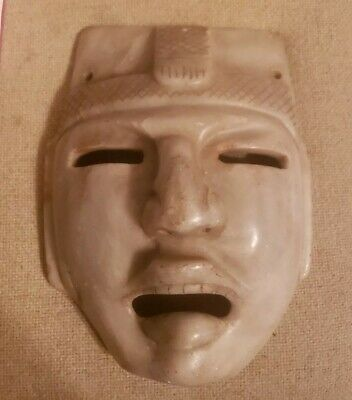 Pre-Columbian Olmec mask from Mexico