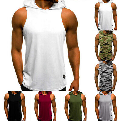 US Army Star Workout Vest Tank Top Bodybuilding USA Gym American Pride T Shirt