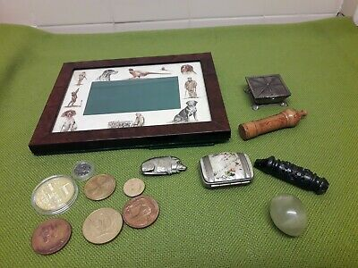 Job Lot Antique Vintage Modern Curious