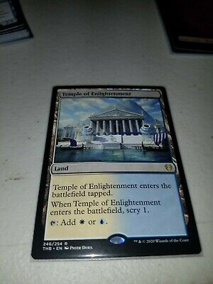 TEMPLE OF ENLIGHTENMENT Theros Beyond Death THB Magic MTG MINT CARD