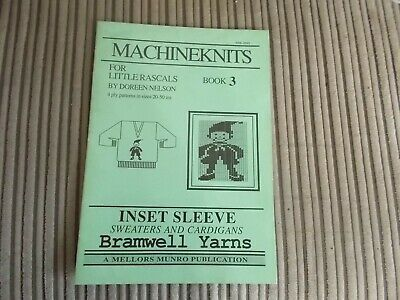 Easy Picture Knits Book for Hand /& Machine Knitting 15 Designs M767