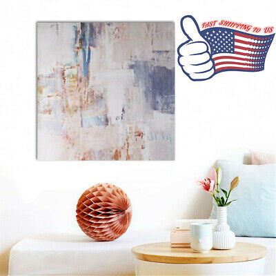 60X60cm Modern Abstract Oil Painting Canvas Art Print Picture Home Wall Decor