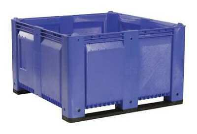 """DECADE PRODUCTS M48SBL6 Bulk Container, Blue, 44-3/4""""W"""