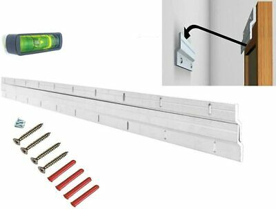 Heavy Duty Picture & Mirror Hanger Z Bar/French Cleat - Floating Hanging System