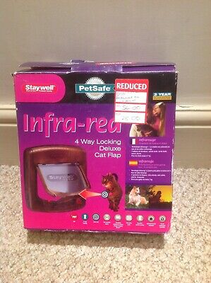 PetSafe Staywell Infra-Red 4 Way Locking Deluxe Cat Flap