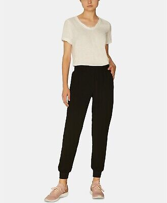 NWT $89 Sanctuary Day Trip Pull-On Joggers Pants Women's size XL  Black 14373