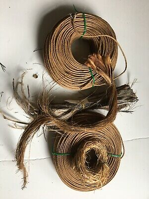 2 Bundles Of Reed For Caning Or Basketry