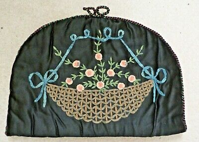 Vintage Hand Painted Tea Cosy 1920'S