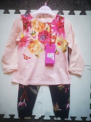 baker by ted baker pink  baby girls leggings size 12-18mth New with Tags