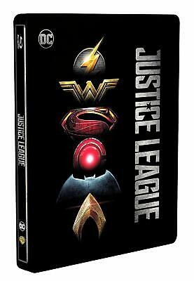 JUSTICE LEAGUE (2017) - Blu Ray Steelbook - New and Sealed.
