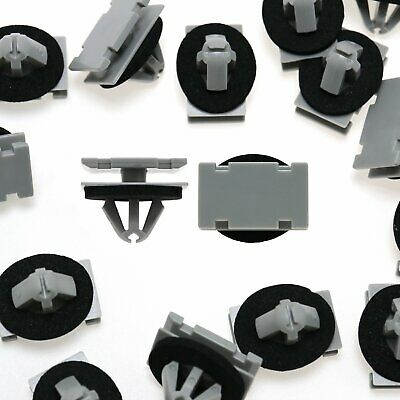 50pcs Rocker Panel Clip Plastic Retainer 5FR56DX9 For GM For Jeep Grand Cherokee