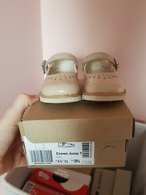 Clarks toddler shoes crown Yarn Jump Size UK 4.5 G girls infant
