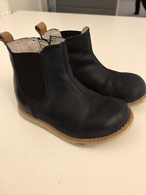 Clarks Navy Chelsea Boots Infant Unisex Girls Boys 6.5g
