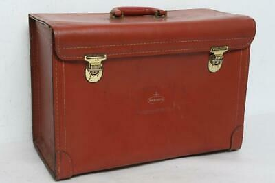 Rare 1940 's Nabisco Salesman Sample Leather Briefcase *Excellent Shape*