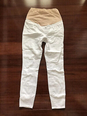 Maternity Jeanswest White Jeans Pants Size 8