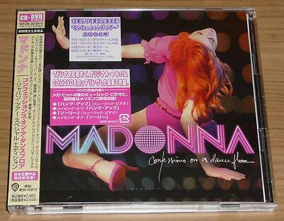 MADONNA Confessions On A Dance Floor JAPANESE CD + DVD VIDEO WPZR-30184-5 MINT!!