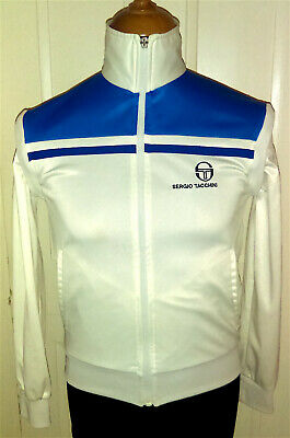 SERGIO TACCHINI YOUNG LINE TRACKSUIT TRACK TOP JACKET / VINTAGE 1980s 80s / XS