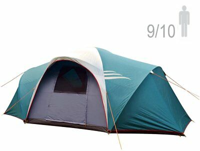 NTK LARAMI GT Tent up to 10 Persons, 12.8FT by 9.8FT by 6.9FT Height