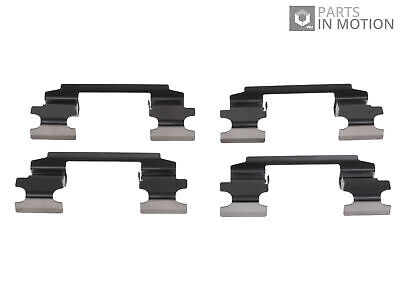 Brake Pad Fitting Kit fits NISSAN MURANO Z51 2.5D Front 10 to 14 YD25DDTi ADL