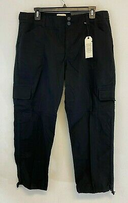 Sanctuary Womens Standard Surplus Capri Pants Black Size 32