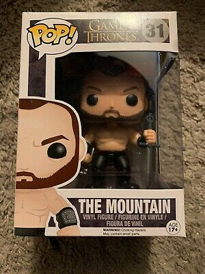 Funko POP! The Mountain #31 Vaulted Game of Thrones