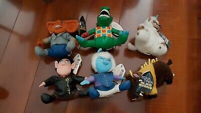 Star Trek Beanie Babies Aliens complete set  Of 6 with tags. Limited Numbered.