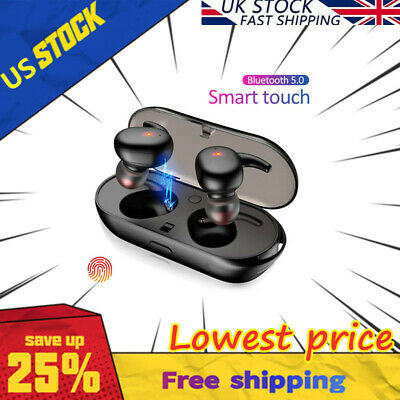 TWS4 Bluetooth 5.0 Earbuds Wireless Headphones Earphones For iphone Android -lot