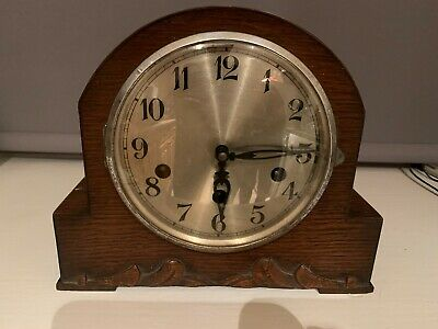Grandmother, American 18 hour, and Mantel piece chiming clock set of three