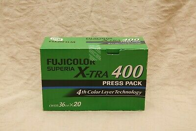 Fuji Xtra, ISO 400, 7 rolls,35mm colour print film. Freezer Stored. Out of date.