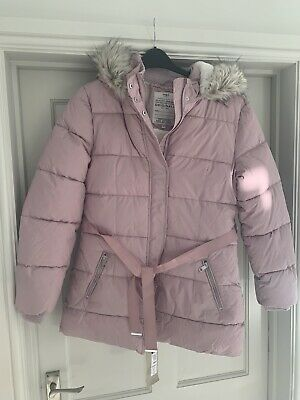 Marks and Spencer Padded Coat with Stormwear™ in Pink BNWT 15-16 Year Or UK10