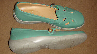 Hotter Womens White Nirvana Leather Shoes Mary Janes RRP?70