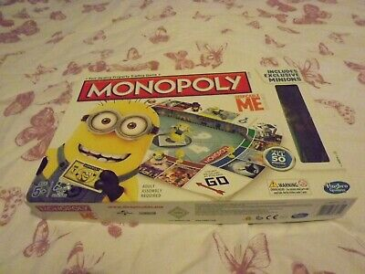 Monopoly Despicable Me  Edition Board Game By Hasbro Games 100% Complete