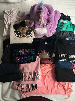 girls clothes bundle - age 9 / 10 / tops / jeans / /next/M&S/gap/dunnes