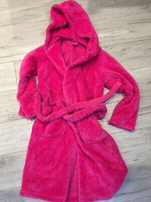 M&S Girls Dressing Gown Age 9-10