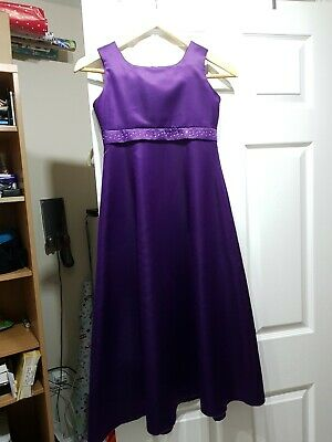 Girls Age 8 Purple Dress Prom Party Xmas (my daughter age 11 has wore it)