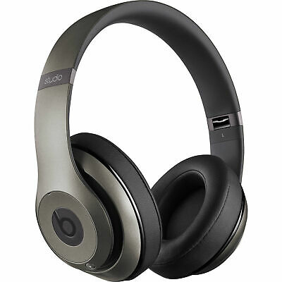Beats By Dre Studio Bluetooth Wireless Over-Ear Headphone (Titanium) - MHAK2AM/B