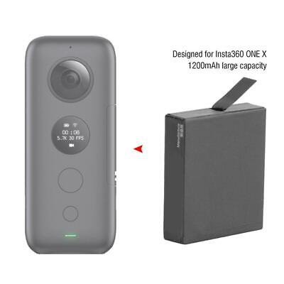 Extra Rechargeable Low Temperature Camera Battery 1200mAh for Insta360 ONE X