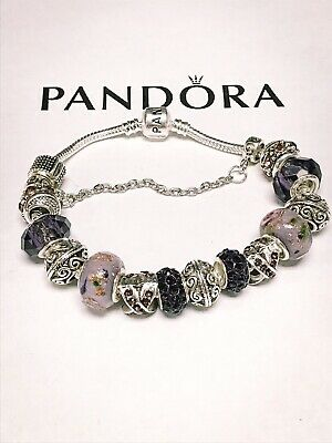 Authentic Pandora Charm Bracelet With Charms