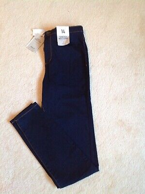 Denim Co Super High Waist Skinny Jeans Size 14 Waist 34 Leg Bnwt