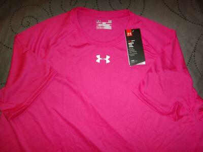 Under Armour Compare To Power In Pink Loose Fit Tech Shirt Nwt $$$$