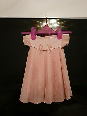 Baby Girls Ted Baker 0-3 Months Pleated Dress Stunning On