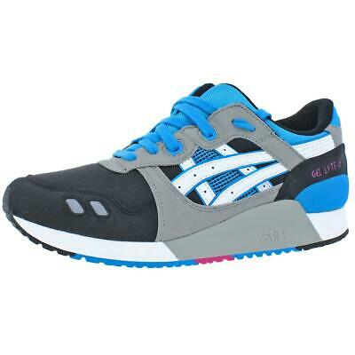 Asics Girls Gel-Lyte III Gray Running Shoes 7 Medium (B,M) Big Kid BHFO 8720