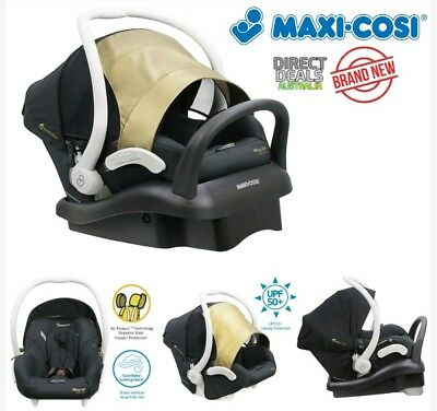 MAXI COSI Mico AP Limited Edition Newborn Baby Capsule Black/Gold NEW