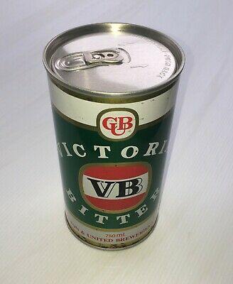 Victoria Bitter (VB)  750ml Beer Can.
